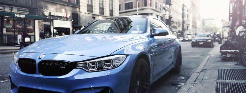 lackförsegling på en BMW