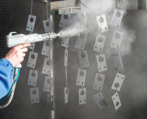 Pris för pulverlackering av metall
